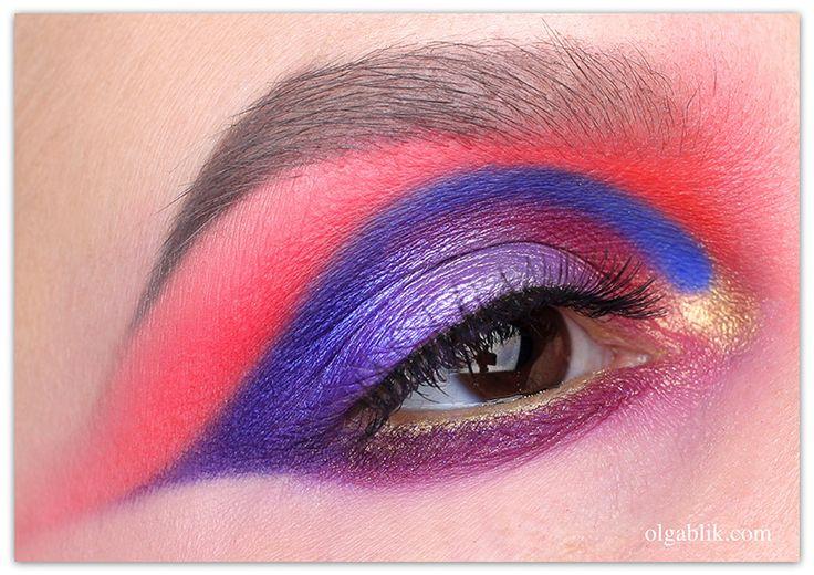 Olga Blik   Яркий макияж глаз и мысли вслух)!   https://olgablik.com