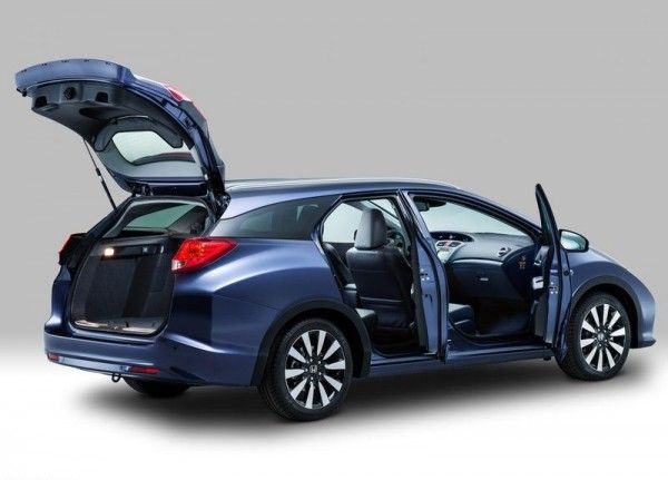 2014 Honda Civic Tourer Door Concept 600x431 2014 Honda Civic Tourer Full Review with Images