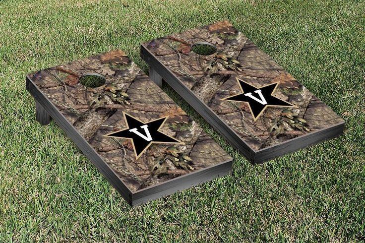 Vanderbilt Commodores Mossy Oak Bag Toss Cornhole Game