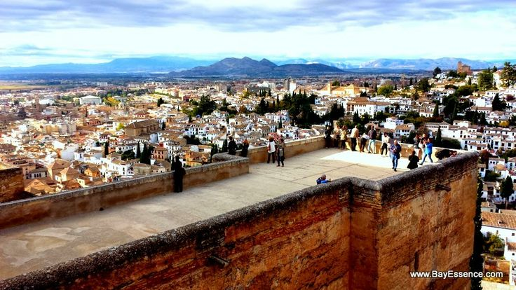 A view of Granada from the Alhambra | Granada, Spain | www.bayessence.com