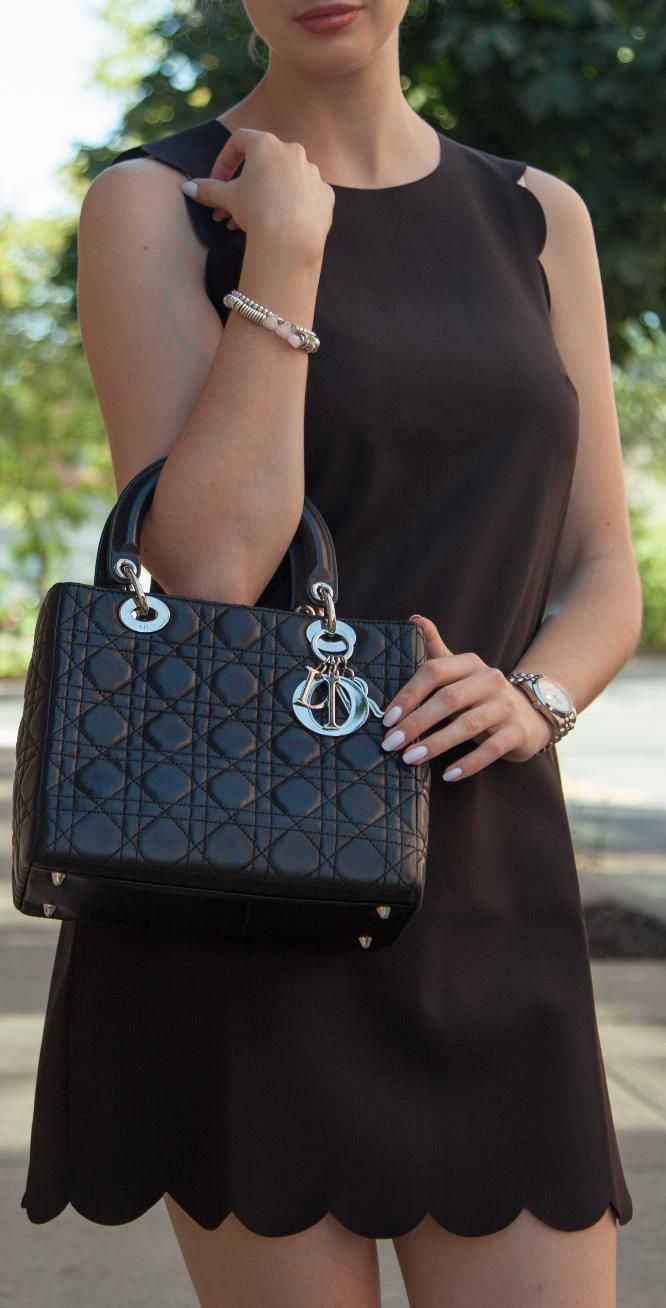 Lady Dior bag, an amazing pre-owned designer bag.