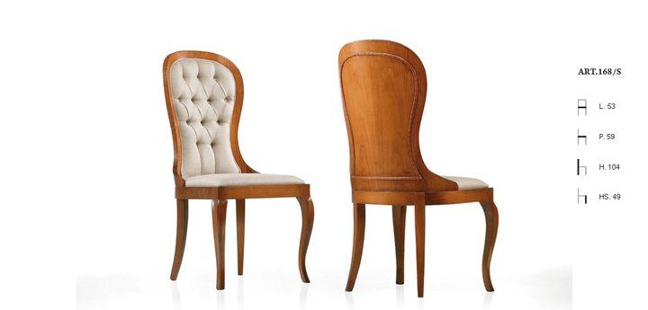 Klasszikus olasz szék 168 - www.montegrappamoblili.hu