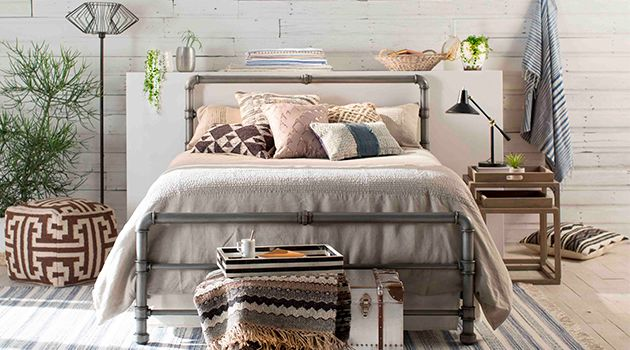 Image Result For Industrial Chic Beds Bedroom Industrial Chic
