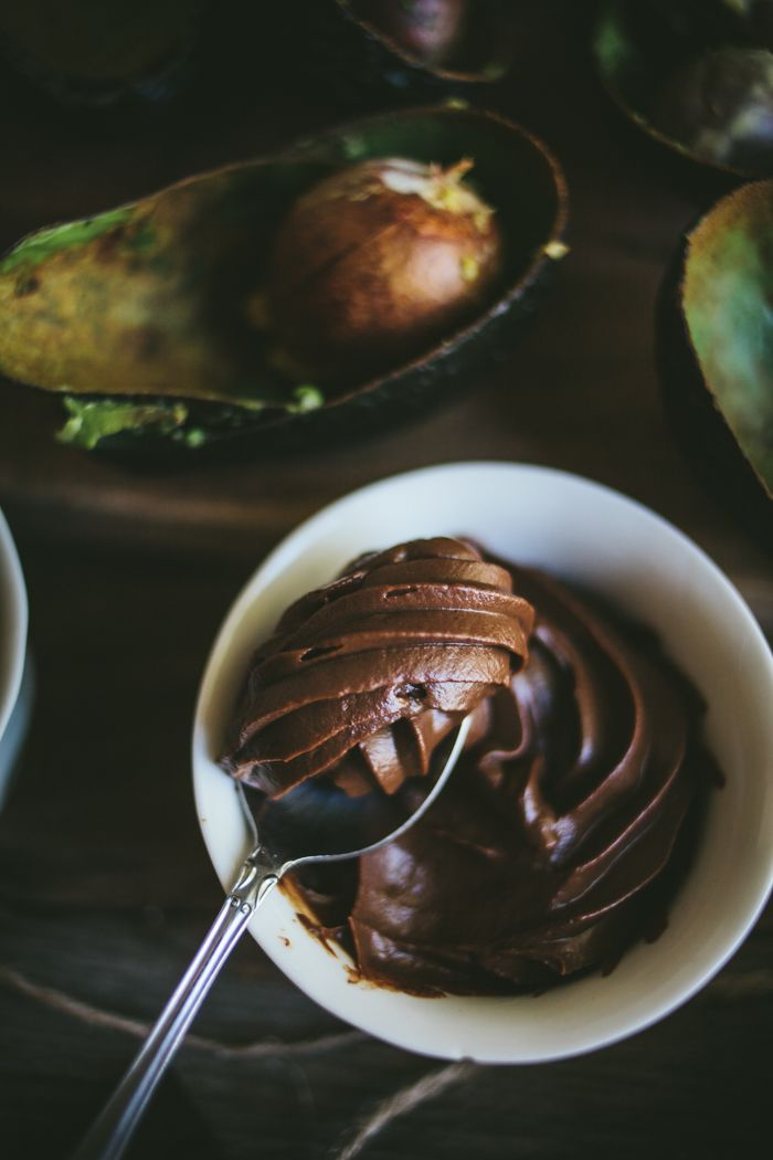 Chocolate Avocado Mousse | Adventures in Cooking - - - I think I can eat this on my diet if I find the right chocolate! YES