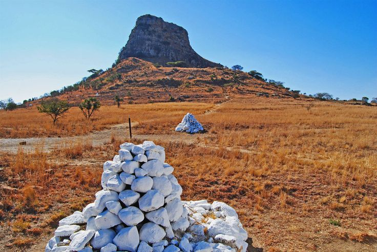 Battlefield at Isandlwana in KwaZulu Natal