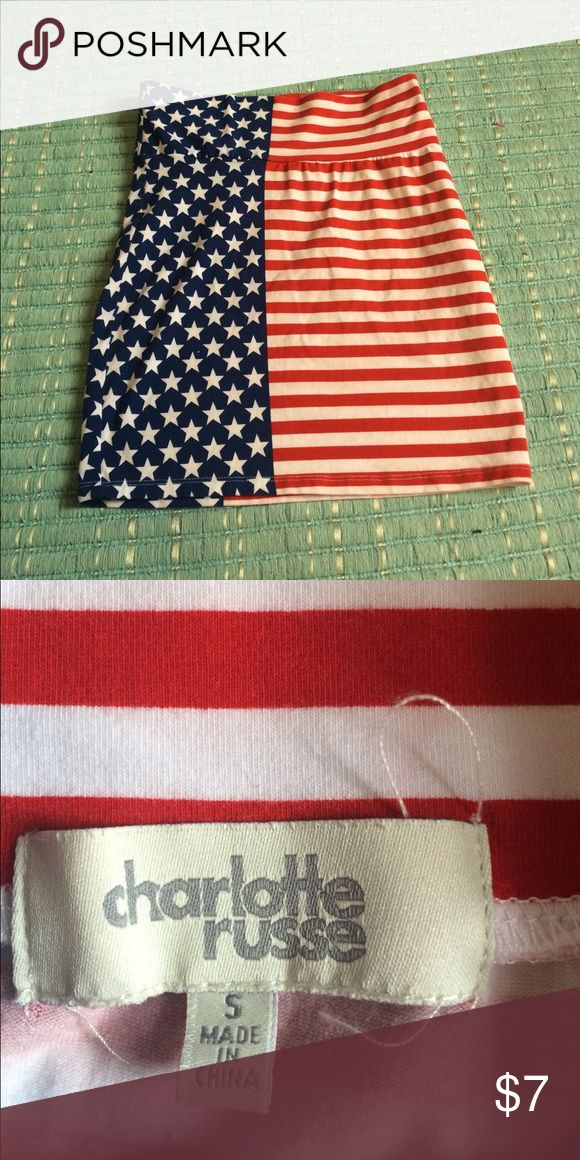 American flag Forever 21 skirt, size small American flag Forever 21 skirt, size small! Make me an offer! Forever 21 Skirts Mini
