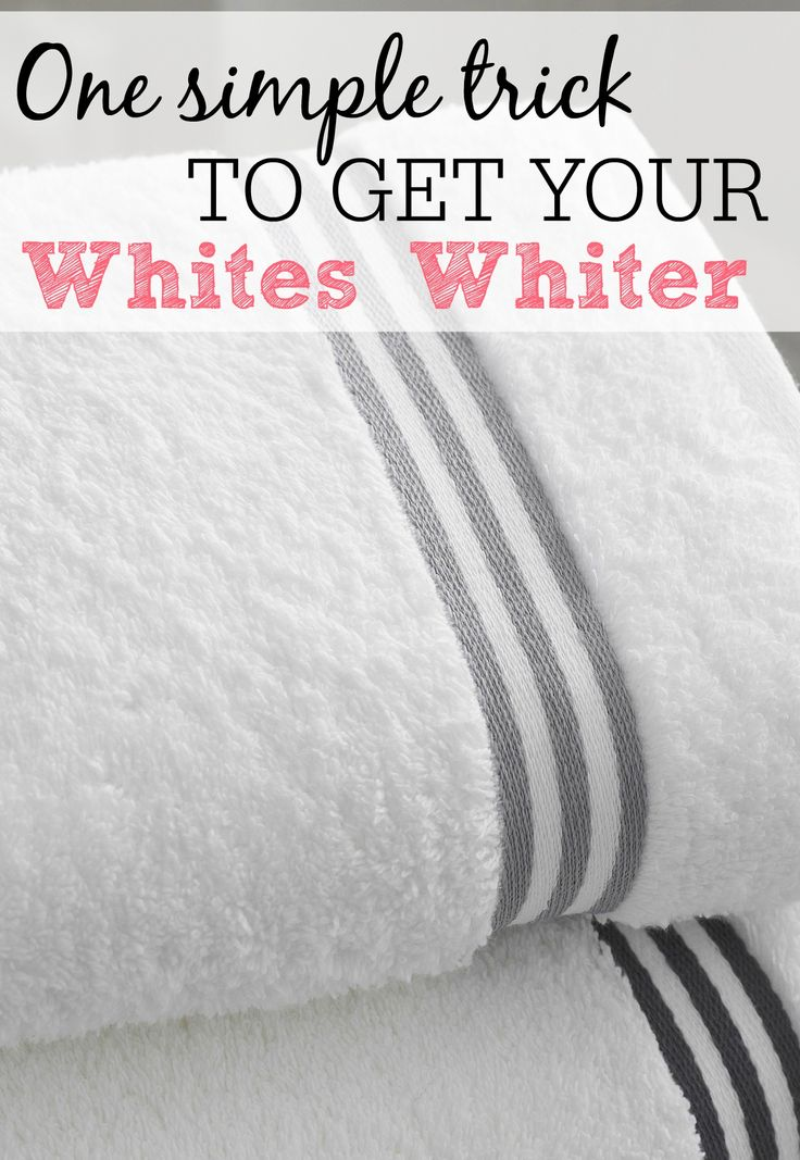 Do you have those clothes that after a couple of years the whites look gray instead of white? I have had that problem for years and never knew what to do about it until a few months ago. I was talking about how my microfiber clothes were a dingy gray color and a reader suggested  {Read More...}