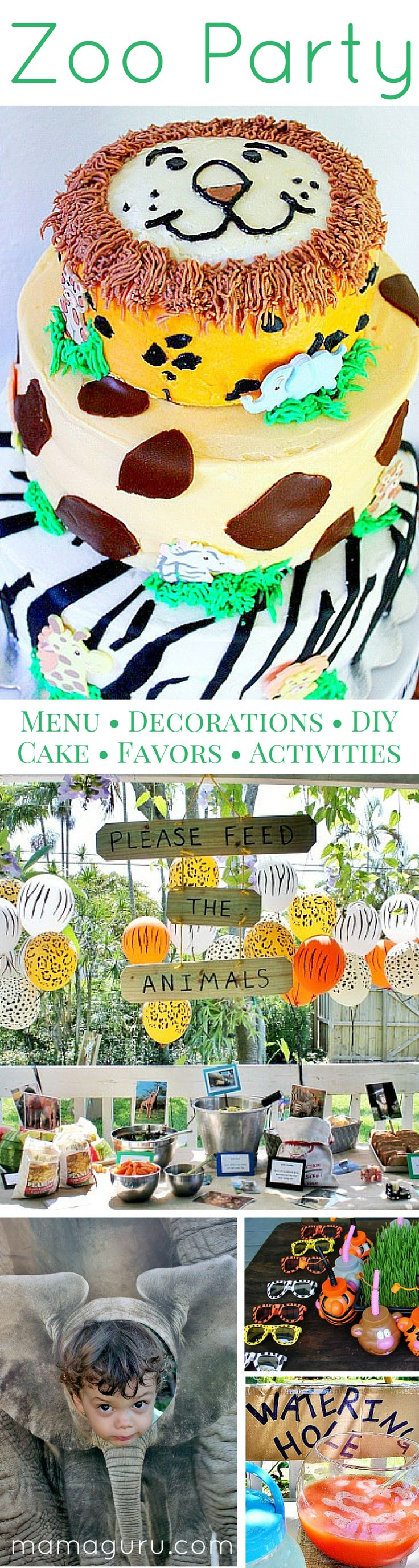 This is a complete guide to throwing a fabulous zoo birthday party! You can throw the best party on the block, without racking your brain to figure anything out. These fun ideas include a party menu, unique decorations, an amazing homemade zoo cake, party activities, zoo party favors, and a DIY photo op. The party has a beautiful, custom feel. It's not a pre-packaged, party-in-a-box. (Think a realistic Martha Stewart!) Surprisingly, these are budget-friendly party plans and the menu is even…