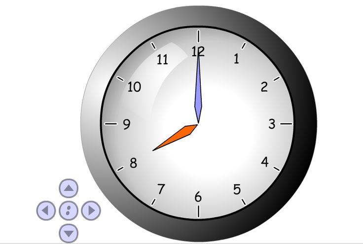 dopasowanie godzin do zegarów