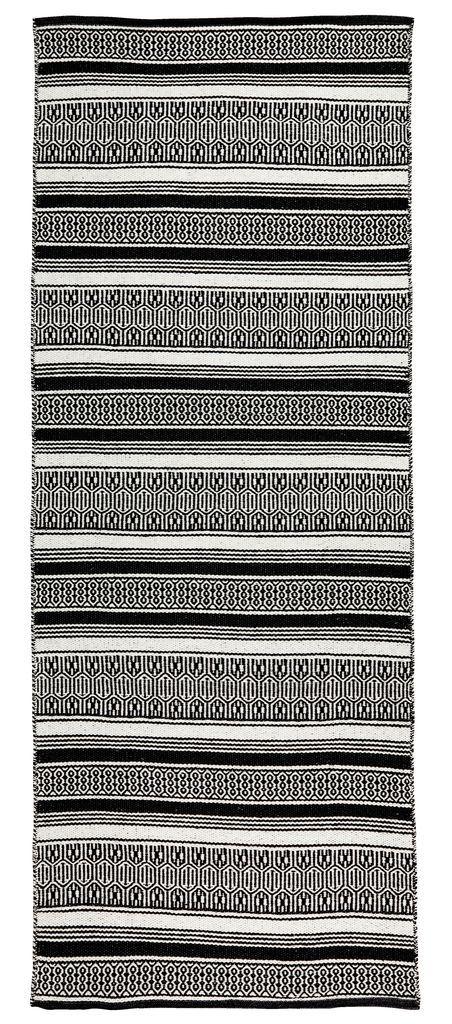 Szőnyeg STORBORRE 80x200 fekete/fehér   JYSK