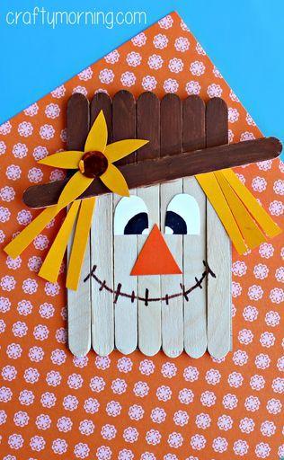Scarecrow fall craft
