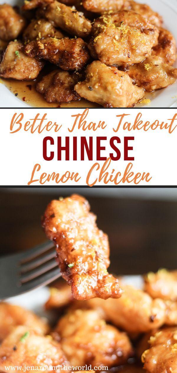 Chinese Lemon Chicken Jen Around The World In 2020 Lemon Chicken Recipe Chinese Lemon Chicken Lemon Chicken