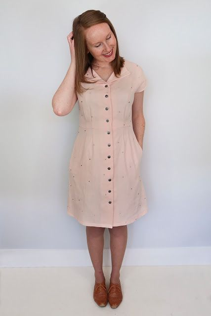 New Pattern Alert! The Sorrel Dress Paper Pattern Kickstarter ... cb387f273