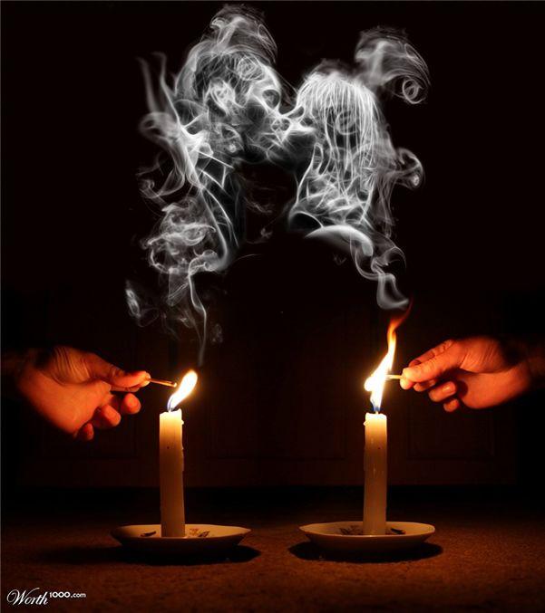 Smoke Art - Creative Digital Photo Manipulation Art Works