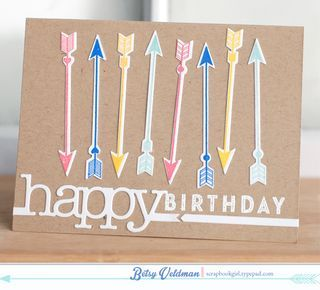 birthday arrows by betsy - cupid's arrow isn't just for valentines!