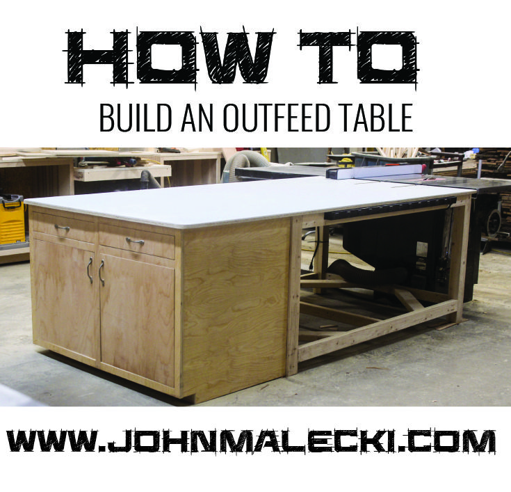 how to build a table saw bench