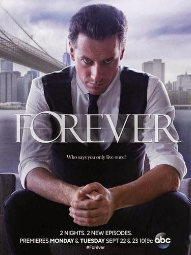 Forever - a New York Medical Examiner who has been alive for 200 years. When he dies, he awakes again in a river by New York.