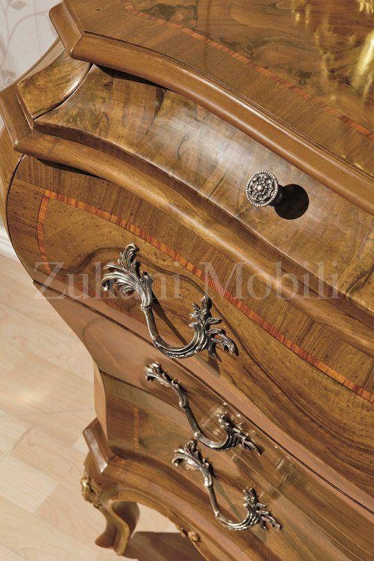 Como in legno massiccio con radica di noce, #Zulianimobili ...