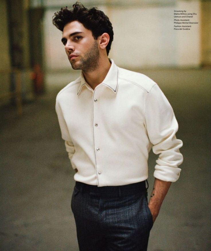 Xavier Dolan Covers Essential Homme in Louis Vuitton