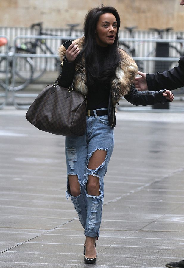 chelsee-healey Celebrity #Street Style Ideas to wear #Ripped #Jeans