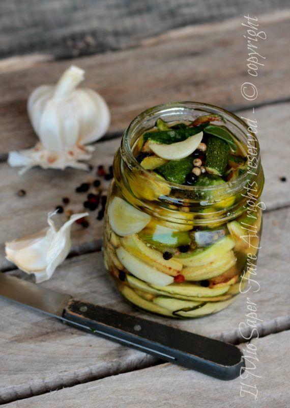Zucchine in carpione ricetta con zucchine il mio saper fare