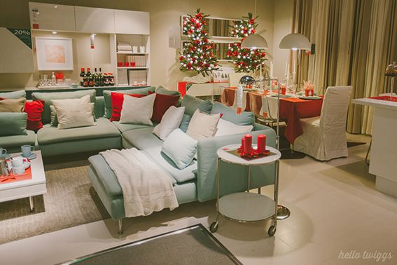 17 best images about ikea christmas on pinterest mesas for Sala de estar ikea