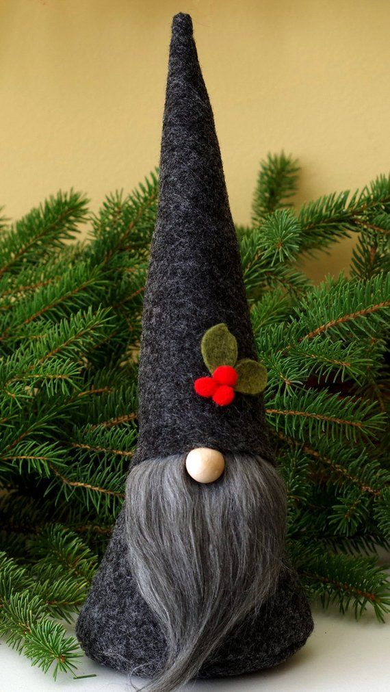Nordic Christmas Gnome, Scandinavian Gnomes, Nisse, Tomte, Birthday Gifts, Hostess Gifts, Traditional Gnome, Gnome Christmas, ALISTAIR