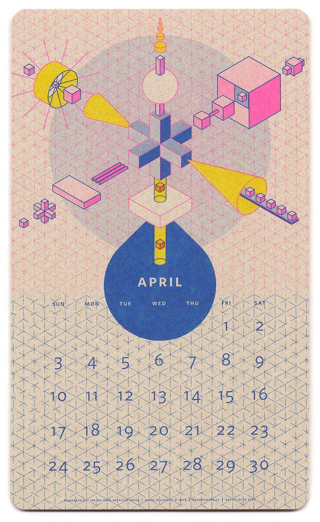 April: Designer - JP King (Canada)
