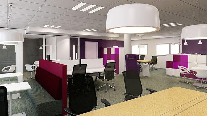Les 90 meilleures images propos de decoration office - Decoration bureau entreprise ...