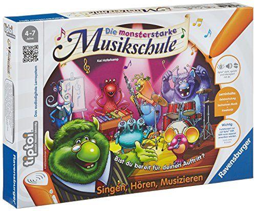 "Ravensburger 00555 - tiptoi Spiel Die monsterstarke Musikschule"" Ravensburger http://www.amazon.de/dp/B00B2XDJKM/ref=cm_sw_r_pi_dp_KuyDwb08QPN9T"