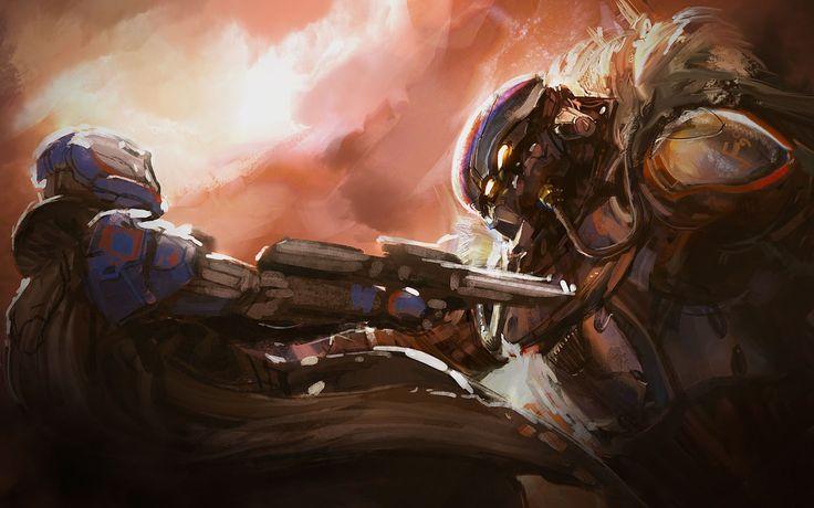 Guardian Executes a Fallen Vandal. Destiny game, Destiny