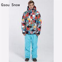US $169.15 New Men Ski Suit Windproof Waterproof Super Warm Clothing Skiing Snowboard Jacket Pants Winter Suit Set Skiing Coat+Trouser Set. Aliexpress product