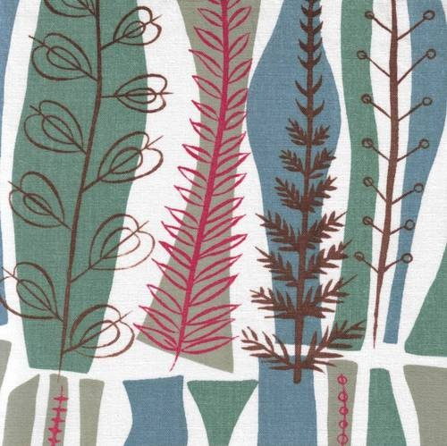 Heals fabric vtg 50s retro Mary White Coppice