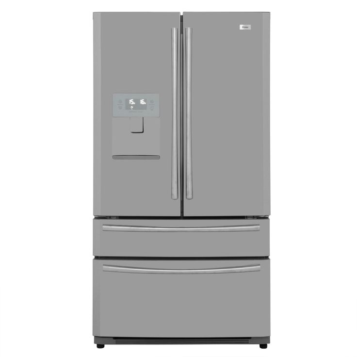 Haier American Fridge Freezer | HB22FWRSSAA | ao.com