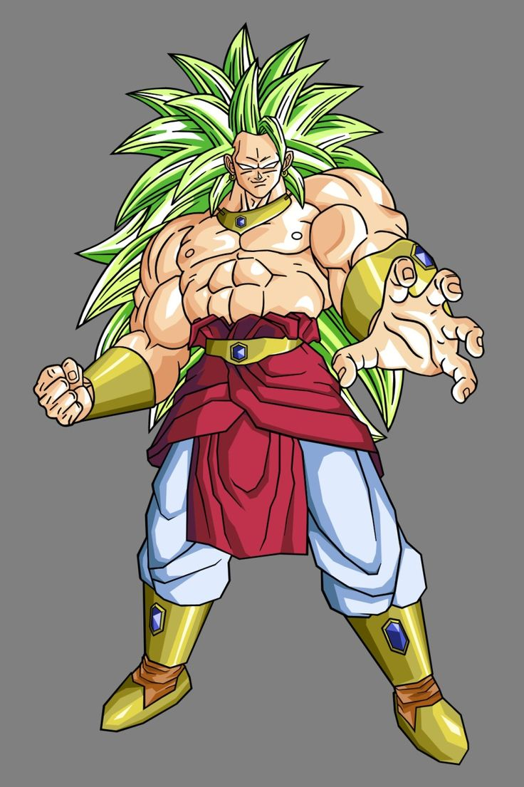 Broly ssj3 dragon ball z gt super af heroes - Broly dragon ball gt ...