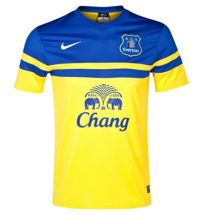 Nike lança a linda camisa 2 do Everton