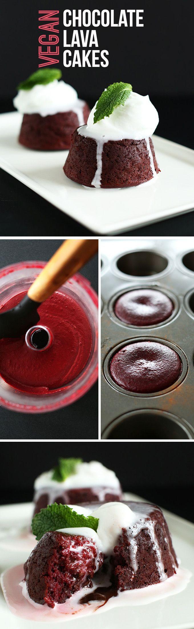 valentine's day molten chocolate cake recipe