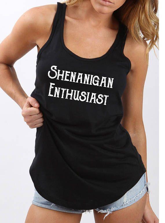 Shenanigan Enthusiast Fair Trade 100% Cotton Tee - Australian designed & printed