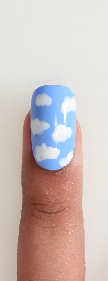 196 best nails cloud images on pinterest clouds nail art cloud nail art for information on how to do designs visit nail prinsesfo Gallery