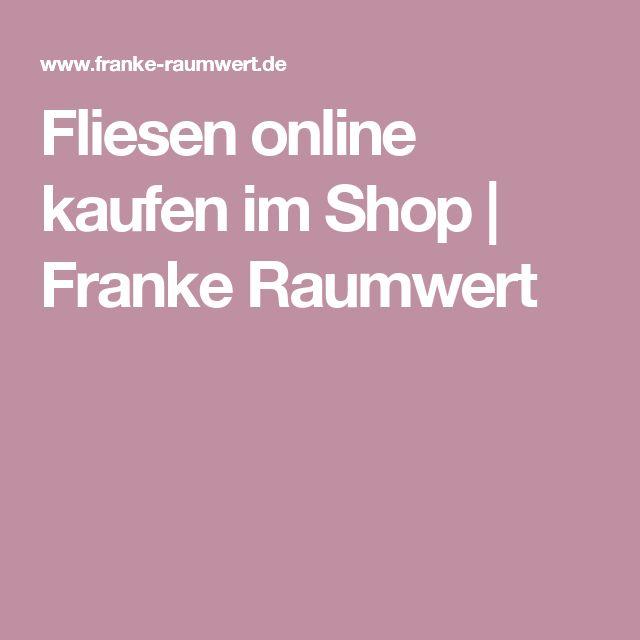 New Fliesen online kaufen im Shop Franke Raumwert