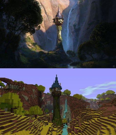 Minecraft Tangled Tower!