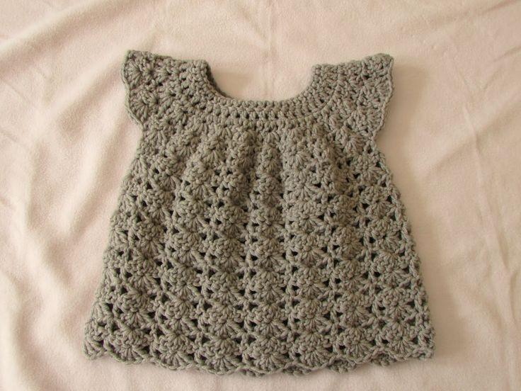 How to Infant Crochet dress for beginners