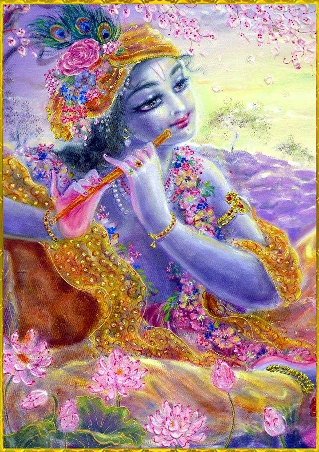 Bansi bajaya Shri Krishna Khaniya