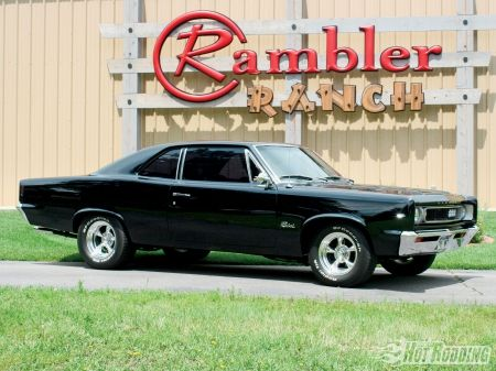 1967 AMC Rebel  Everyone forgets AMC made some great muscle cars.  Rebel and Javelin were both awesome.