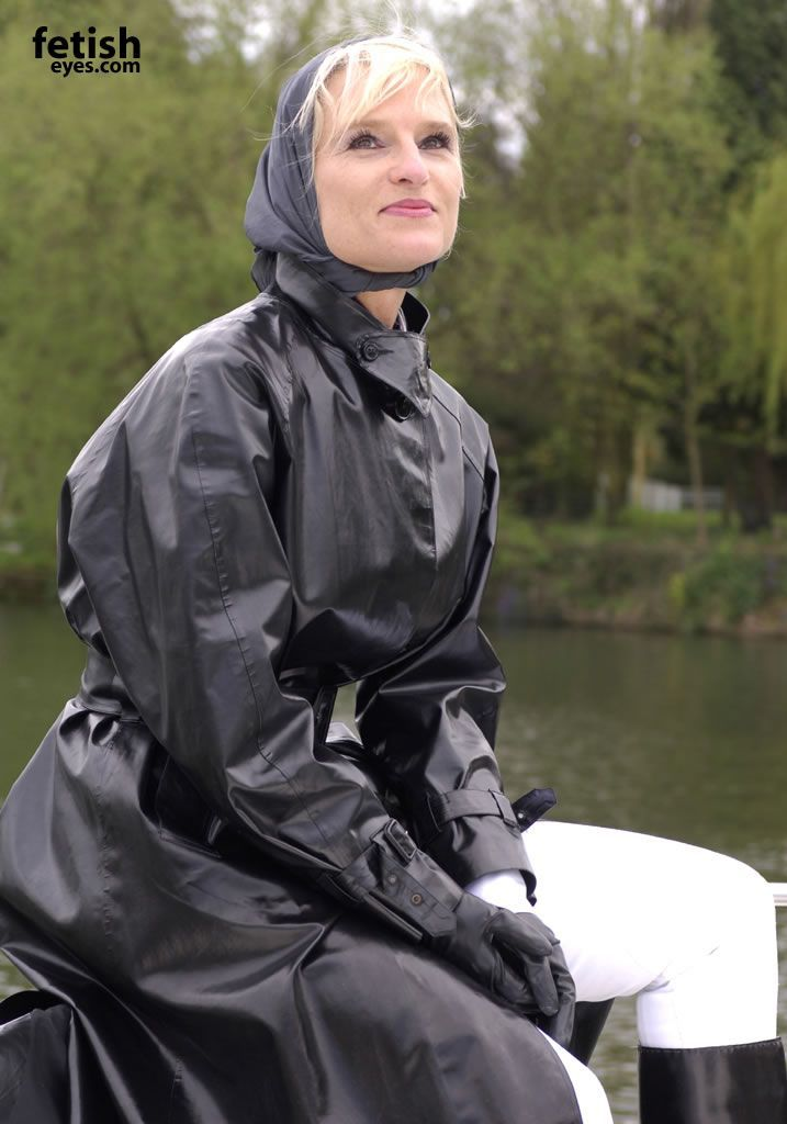 photographs rubber mackintosh rainwear
