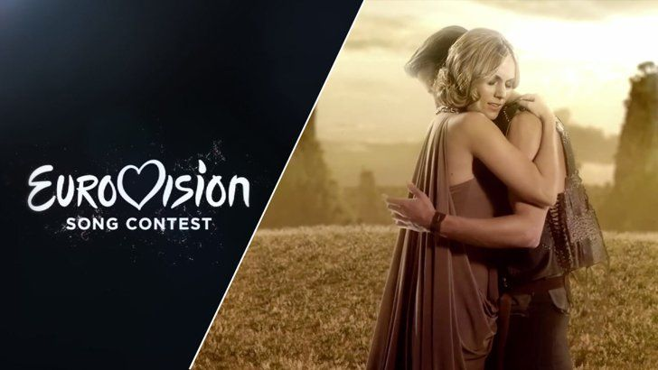 """Pin for Later: Listen to Every Single Song From the 2015 Eurovision Song Contest Spain Edurne — """"Amanecer"""""""