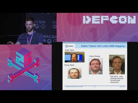 DEF CON 25  - Gus Fritschie, Evan Teitelman - Backdooring the Lottery and Other Security Tales - http://LIFEWAYSVILLAGE.COM/lottery-lotto/def-con-25-gus-fritschie-evan-teitelman-backdooring-the-lottery-and-other-security-tales/