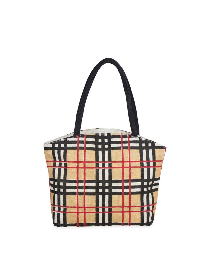 The all new plaid patter on Jute.