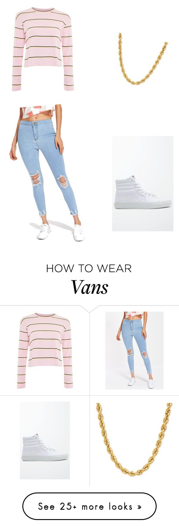 """Untitled #1"" by amadahya on Polyvore featuring Topshop and Vans"