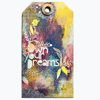 My Life in Collage: Creativations 2018 - Tim Holtz Blog Hop and Give Away!